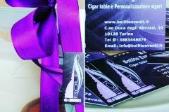Confezione regalo sigari viola